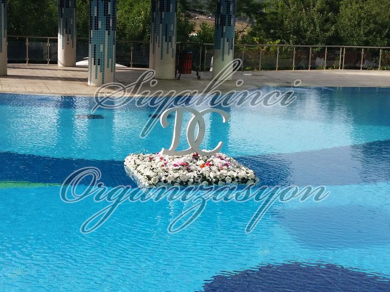 Havuz Çiçeği - Harfli