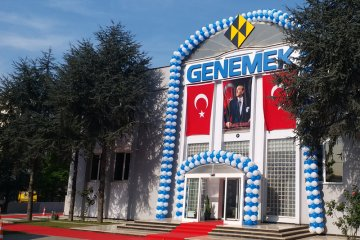 Genemek firmasının fabrika açılış töreni